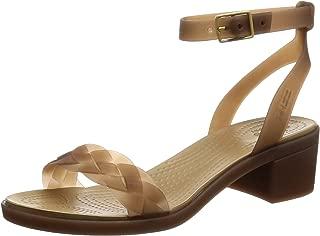 block heel wedge sandals