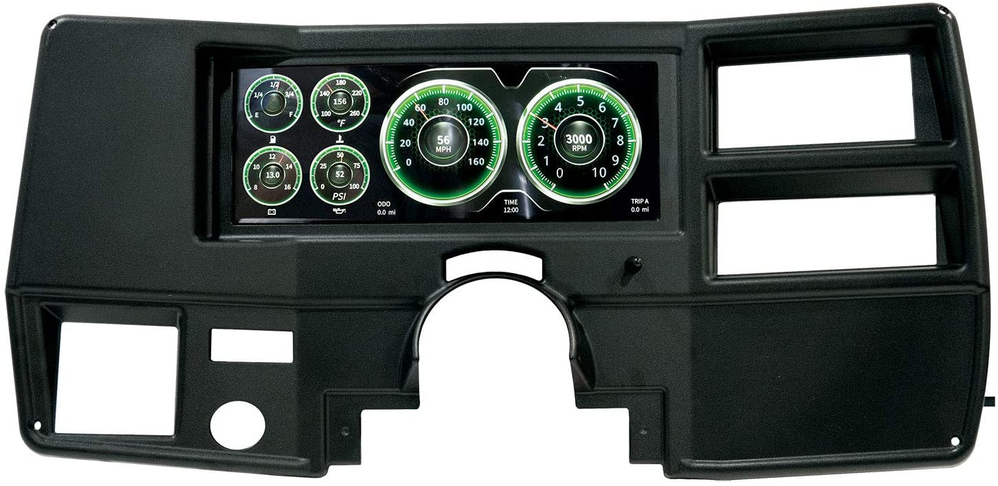 AUTO METER 7004 Sale price Invision Direct Fit Beauty products 73-87 Chevy LCD Digital Dash