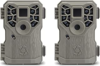 Stealth Cam PX14 8MP 14 IR Emitter Hunting Game Trail Camera with Video, 2 Pack