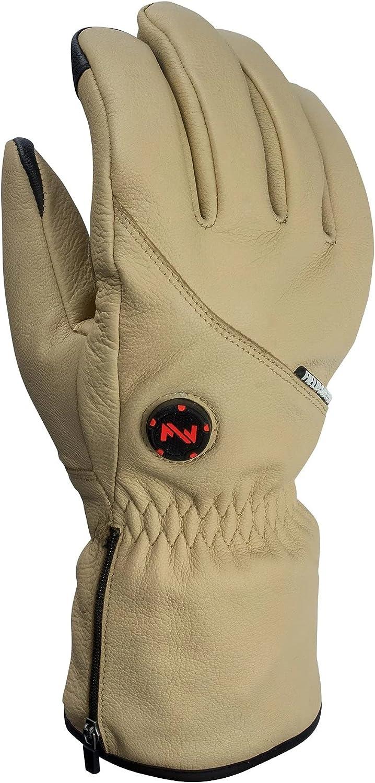 Fieldsheer Ranger Heated Leather Glove w/Over the Top Heat Zone