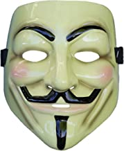 Premium Quality 12-Inch By 6-Inch Vincit Veritas Anonymous Mask Black Etched License Plate V For Vendetta Mask Guy Fawkes Mask Hacker Mask LP003