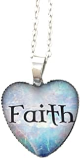 Spritial Words Jewelry/Heart Pendant/Necklace Women/Teens/Girls