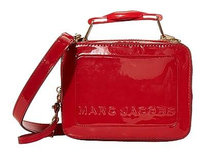 Marc Jacobs The Box 20 Patent Lips (Berry Multi) Handbags