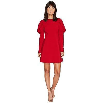 Nicole Miller Karli Bold Shoulder Dress (Red) Women