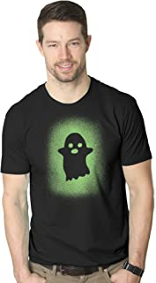 Glowing Ghost Glow in The Dark Shirt Scary Halloween T Shirt Cool Costume Tee
