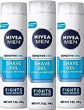 NIVEA Men Sensitive Cooling Shaving Gel – Gentle Cooling Sensation while Shaving..