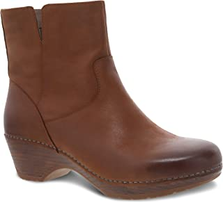 Dansko Women's Meghan Bootie - Womens Boots with inside zip