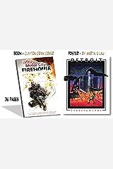 Inferno City Firehouse w/ Detroit vs Dragon Poster (9 x 11) Perfect Paperback