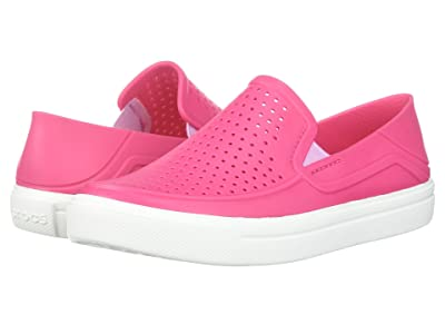 Crocs Kids CitiLane Roka (Toddler/Little Kid) (Paradise Pink/White) Kid