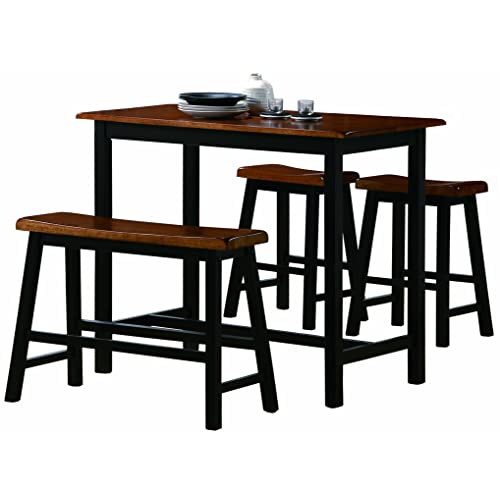 Tremendous Kitchen Bar Table Amazon Com Beutiful Home Inspiration Semekurdistantinfo