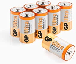 Size D batteries |Pack of 8| GP Batteries |Superb operating time| LR20 | 13A | 1.5V | MN1300
