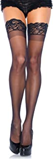Women's Stay-Up Lace Top Thigh Highs