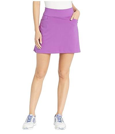 adidas Golf Ultimate Knit 16 Skort (Active Purple) Women
