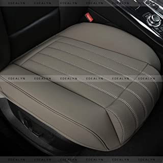 Beige Color Airbag Compatible Lingyue Leatherette Custom Exact Fit Car Seat Cover Full Set for 2012 2013 2014 2015 2016 CRV