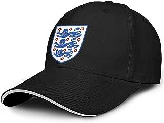 CCBING UK England Emblem Lion Royal Unisex Baseball Cap Funny Golf Hat