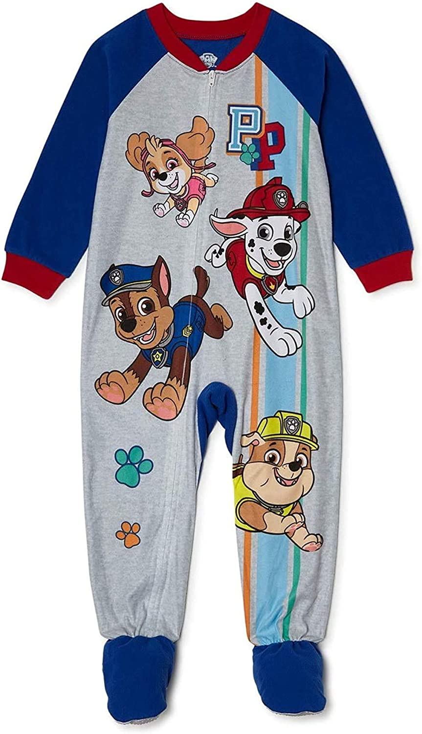 Paw Spring new work one after another Patrol Discount mail order Pup Power Toddler Boy Microfleece Paj Blanket Sleeper