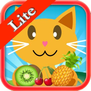 QCat -Preschool 7 in 1 Educational Game for toddler and kid : Fruit (Lite)