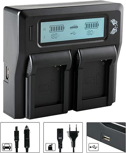 Sk Battery Panasonic Dmw Bcm13 1200 Mah Charger Camera Photo
