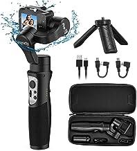Hohem Gopro Gimbal 3-Axis Handheld Gimbal Stabilizer Splash Proof Pro for Gopro Hero 8/7/6/5/4/3 DJI Osmo Action Yi Cam 4K...