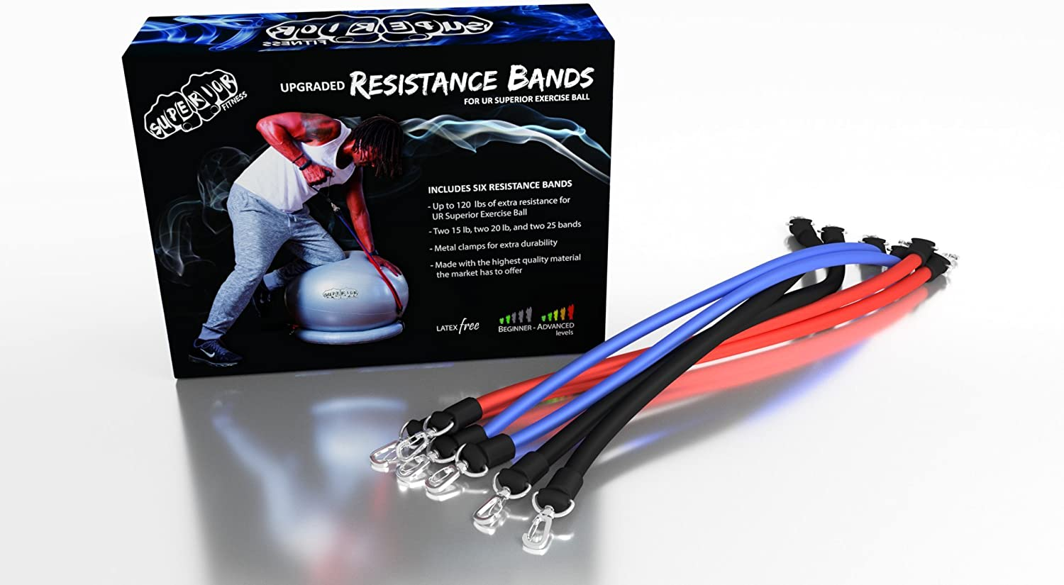 Superior 海外限定 Fitness Upgraded Workout Resistance for 信託 600 Your Bands