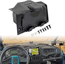 Soportes de dispositivo electrónico con bandeja organizadora de caja de almacenamiento para RZR XP 1000, SAUTVS dispositivo electrónico teléfono Tablet GPS titular para Polaris RZR XP 1000/RZR XP 4 1000/RZR XP Turbo 2019-2020 Accesorios