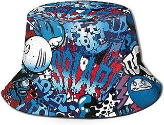 أشياء غريبة قبعة الشمس للرجال / النساء واقية من الشمس دلو قبعة في الهواء الطلق تنفس حزمة قبعة Boonie للسفر الصيد