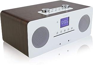 Denver MIR-260 CD Player, Digital DAB+ & WiFi Internet Radio - With FM Radio, Bluetooth 5.0, AUX IN, 2.4 inch colour scree...