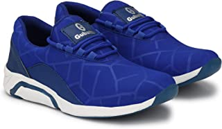 Gubatti Mens Casual Sneakers Shoes Spaider Black/Red/Blue/Grey/Sky Blue/Purple