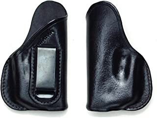Turtlecreek Leather IWB Holster for Kel-Tec with TR1 ArmaLaser in Right Hand Pattern and Fixed Clip