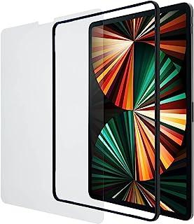エレコム 液晶保護 ガラスフィルム ガイドフレーム付 iPad Pro 12.9(2021年 第5世代) 用 TBWA21PLFLGGJ