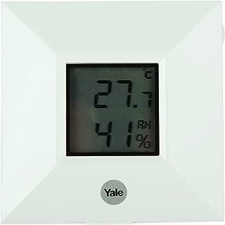 Yale SR-RS Alarm Tempreture and Humidity Sensor, White