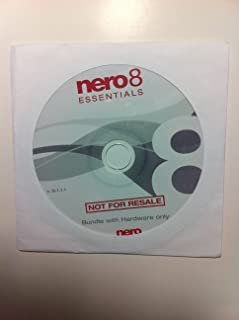 Nero 8 Essentials Multimedia Suite CD/DVD Burning Software (OEM Version)
