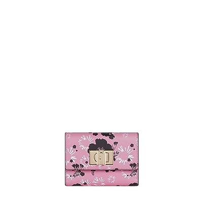 Furla 1927 Medium Bifold (Toni Pink) Handbags