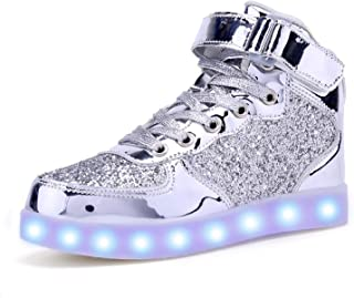 AoSiFu Kids LED Light Up Shoes Breathable Kids Girls Boys...