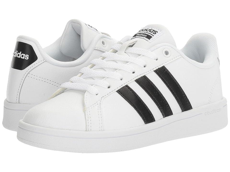 adidas Cloudfoam Advantage Stripe (White/Black) Women