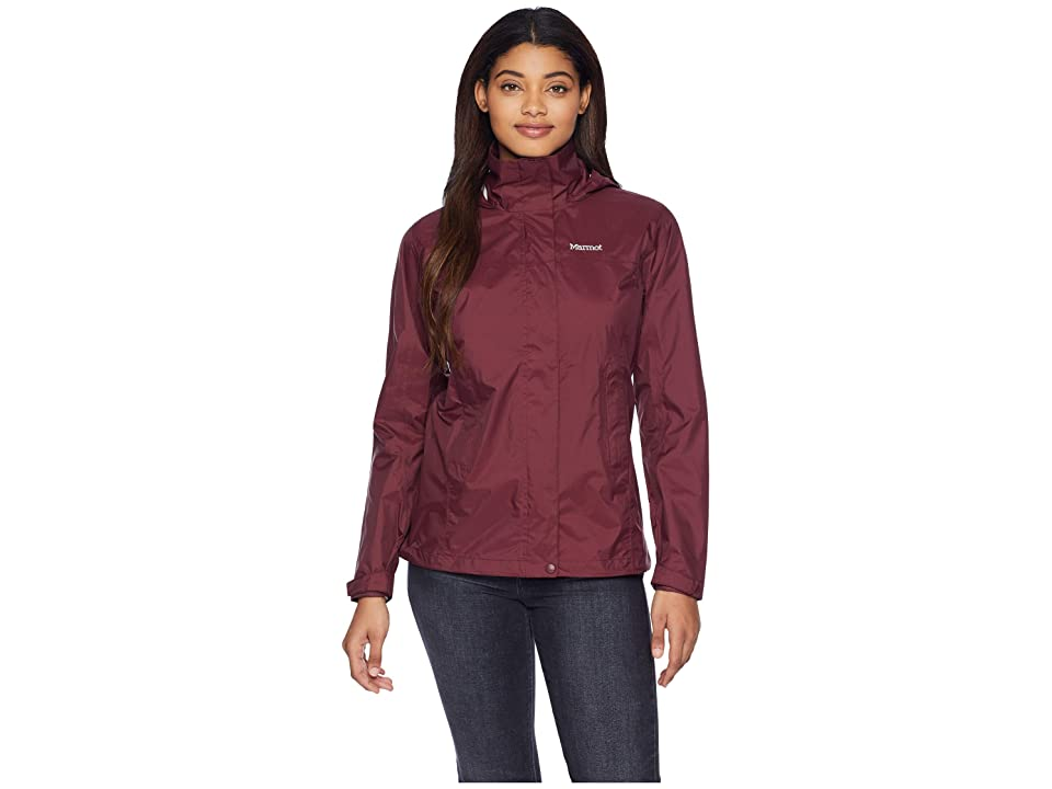 Marmot PreCip(r) Jacket (Burgundy) Women