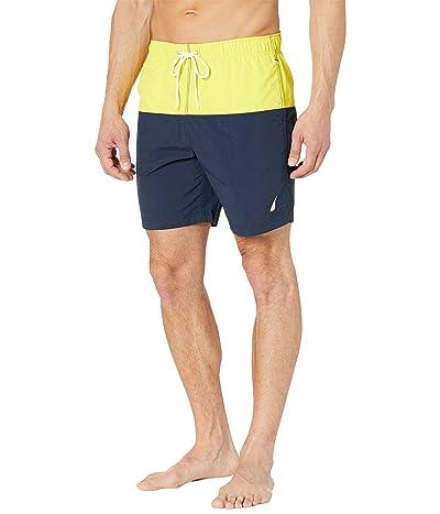 Nautica 8 New Dual-Block Swim Shorts