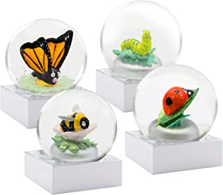 CoolSnowGlobes Mini Bugs Set of Four Snow Globes
