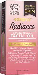 Essano Certified Organic Radiance Facial Oil 20ml