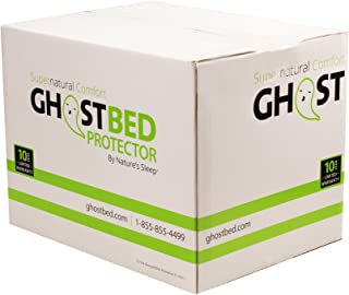 GhostBed King Premium Mattress Protector - Noiseless – 100% Waterproof Mattress Protector - Guaranteed to Fit and to Stay On with Patented GhostGrips - Industry Leading 10 Year Warranty