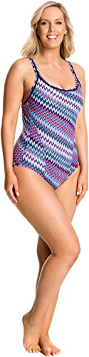 Way Funky Funkita Ladies Locked in Lucy One Piece Static Attack Maillot de Bain en 14