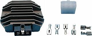 Tuzliufi Replace Voltage Regulator Rectifier Kawasaki EX250 GPX600R KEF300 KL650 KLF300 KLR650 KLX250S GPZ600R VN750 VN1500 ZL600 ZX-6 ZR-7 ZR-7S ZX600 ZXR400 ZZR600 Ninja Lakota Bayou Vulcan Z48