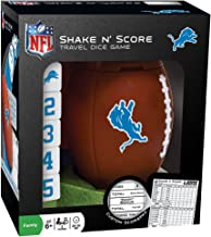 MasterPieces NFL Detroit Lions Shake N' Score Dice Game, For 2 Players, Ages 6+