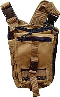 Falco Shoulder Bag for Concealed Gun Carry, Coyote