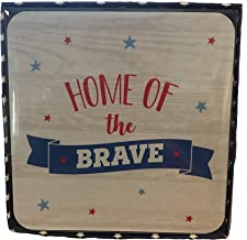 Home of The Brave 4 Pack Coaster Set