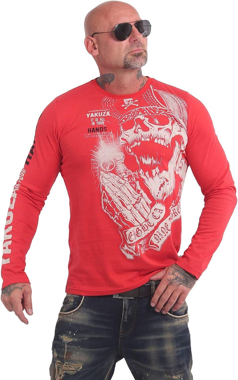 Yakuza Men Long-Sleeve Carnal 5 ☆ very popular T-Shirt Baltimore Mall