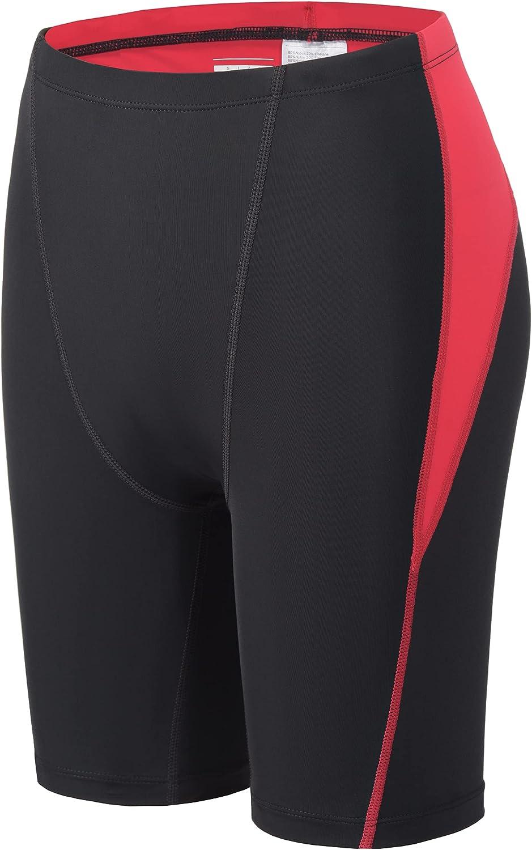 MIVEI Boys Swim Jammers - Youth Swim Team Swimsuit Shorts Swimming Trunks Solid Quick Dry UPF 50+