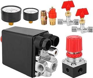 Pressostato trifase 380V a struttura semplice Parti pneumatiche normalmente chiuse per impieghi gravosi per sistemi di frenatura antiscivolo per compressore daria