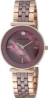 Women's Genuine Diamond Ceramic Bracelet Watch