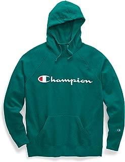 Champion Womens GF140 Plus-Size Powerblend Graphic Hoodie Long Sleeve Hooded Sweatshirt